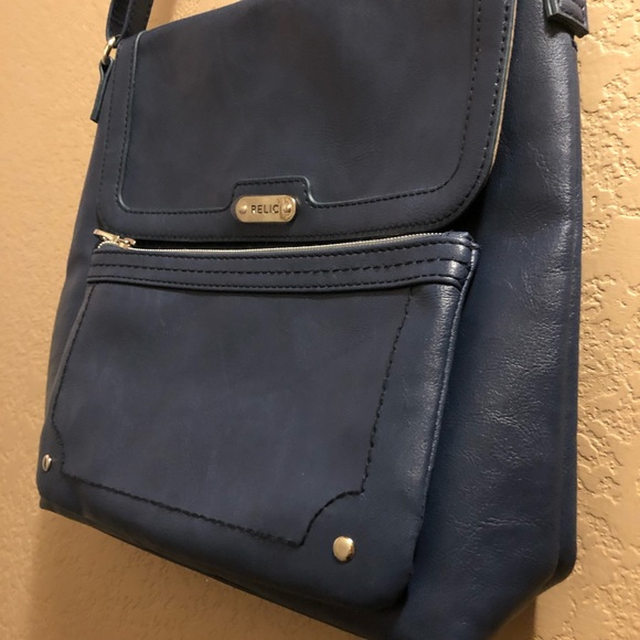 Relic Handbags - •NWOT• RELIC deep denim blue crossbody